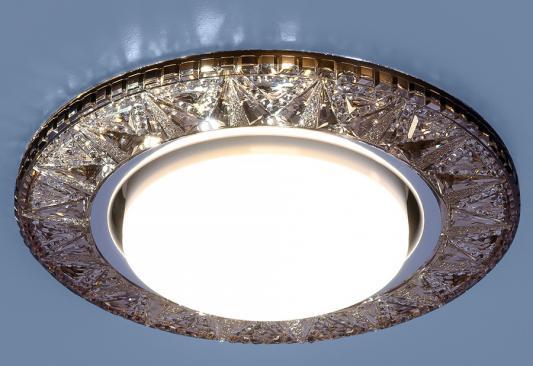 Встраиваемый светильник Elektrostandard 3022 GX53 GC тонированный 4690389100048 elektrostandard электронный пускорегулирующий аппарат эпра elektrostandard bls 03 t4 20w 4690389037078
