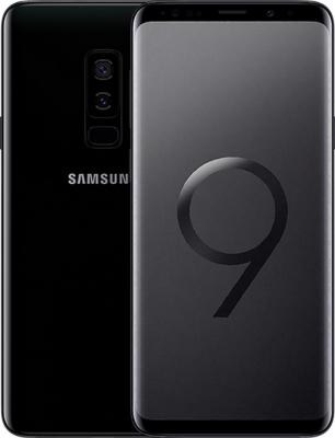 Смартфон Samsung Galaxy S9+ 256 Гб черный (SM-G965FZKHSER) смартфон samsung galaxy j1 2016 8 гб черный sm j120fzkdser