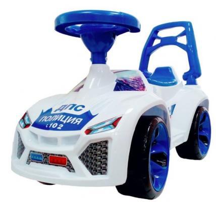 Машина-каталка Ламбо Полиция музыкальный руль машина orion toys камакс автокран 238