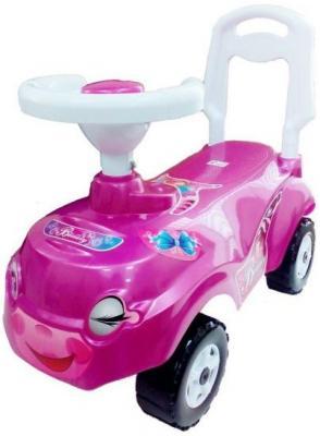 Машина-каталка Микрокар розовая