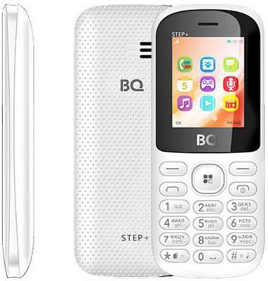 Мобильный телефон BQ BQ-1807 Step+ белый 1.77 64 Мб мобильный телефон bq mobile bqm 1831 step white