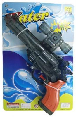 Купить Пистолет водяной 28, 5 см A1062606J, Наша Игрушка, Пластик, Для мальчиков, Игрушки для воды и пляжа