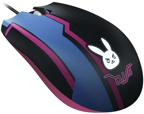 Мышь проводная Razer Abyssus Elite D.Va Edition чёрный USB RZ01-02160200-R3M1 цена