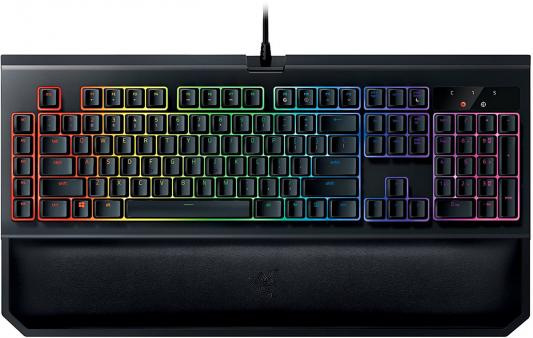 Клавиатура проводная Razer BlackWidow Chroma V2 USB черный RZ03-02032300-R3M1 razer naga chroma black usb