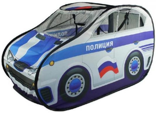 Игровая палатка Наша Игрушка Полицейская машина M6848 машины chicco полицейская машина