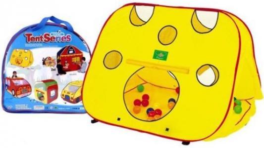 Купить Игровая палатка Наша Игрушка Сырок 100160934, желтый, Детские домики - палатки
