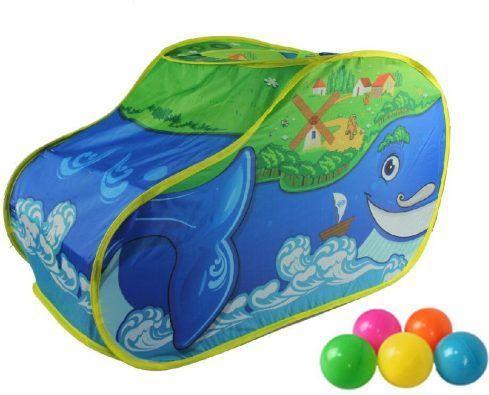 Купить Игровая палатка Наша Игрушка Чудо Кит M7118, синий, Детские домики - палатки