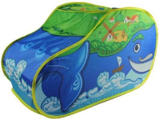 Купить Игровая палатка Наша Игрушка Чудо Кит M7117, синий, Детские домики - палатки
