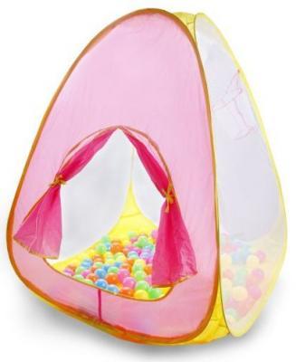 Игровая палатка Наша Игрушка Палатка игровая с баскетбольной корзиной SPK893999W палатка игровая наша игрушка лягушонок 100 100 98см сумка
