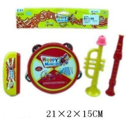 Набор Веселый музыкант, 4 предм., пакет