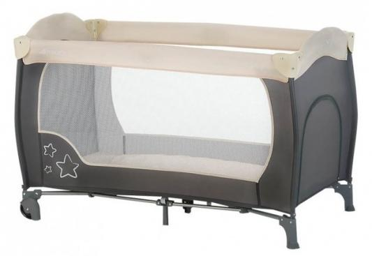 Манеж Hauck Sleep'n 'Play Go Plus (stars charcoal)