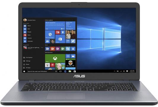 Ноутбук ASUS X705UQ BX130 17.3 1600x900 Intel Core i3-7100U 90NB0EY2-M01570 ноутбук asus 90nb0ey2 m02380