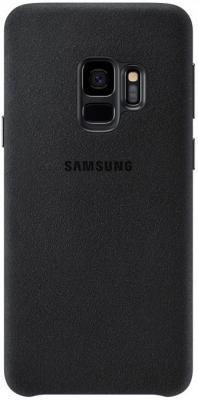 Чехол (клип-кейс) Samsung для Samsung Galaxy S9 Alcantara черный (EF-XG960ABEGRU) клип кейс samsung alcantara для galaxy s8 розовый