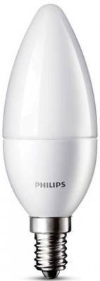 Лампа светодиодная свеча Philips 763292 E14 5.5W 4000K
