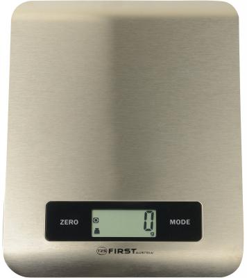 Весы кухонные First FA-6403 серебристый