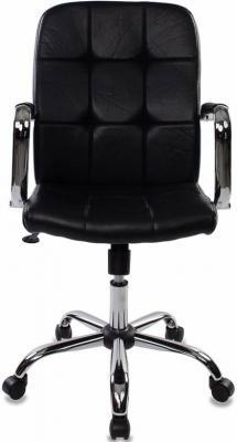 Кресло Бюрократ CH-909-LOW/BLACK искусственная кожа черный сауны бани и оборудование five wien халат jizel цвет сухая роза ххххl