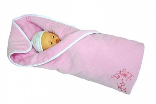 Купить Плед Bombus Изабэль (розовый), 90 х 110 см, велюр, Одеяла и пледы