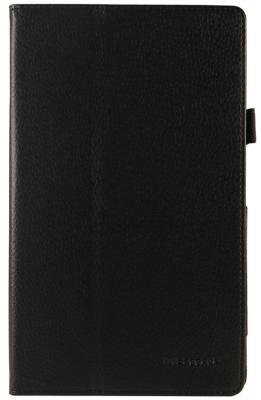 Чехол IT BAGGAGE для планшета Lenovo Tab 4 Plus 8 TB-8704X черный ITLNT487-1 for lenovo tab 4 8 plus tb 8704x soft silicone back cover for tab4 plus tb 8704f tb 8704n 8 tablet stand case