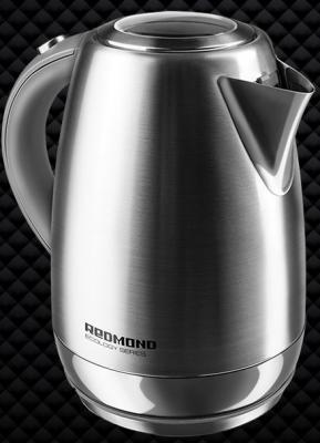 Чайник Redmond RK-M172 2100 Вт серебристый 1.7 л нержавеющая сталь electric kettle redmond rk m172 metal