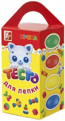 Купить Тесто для лепки ЛУЧ 26С1590-08 4 цвета 26С1590-08, Тесто и масса для лепки