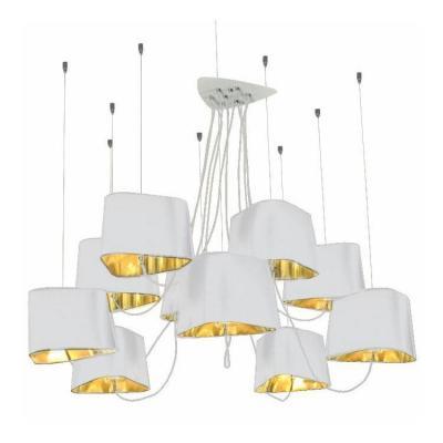 Подвесная люстра Loft IT Street Loft1163-10WH crystal lamp d1489 10wh