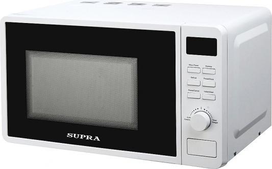 цена на СВЧ Supra 20TW42 700 Вт белый