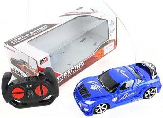 """Машинка на радиоуправлении Shantou Gepai """"Top Racing"""" пластик от 3 лет синий 1:24, 4 канала"""