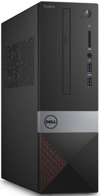 Системный блок DELL Vostro 3268 SFF i5-7400 3.0GHz 4Gb 500Gb HD630 DVD-RW Win10 клавиатура мышь черный 3268-5747 пк dell vostro 3268 sff i5 7400 3 4gb 1tb 7 2k hdg630 dvdrw cr linux gbiteth wifi bt клавиатура мышь черный