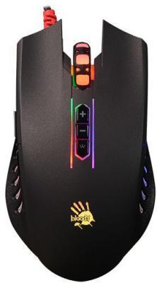 Мышь проводная A4TECH Bloody Q81 чёрный USB в ассортименте
