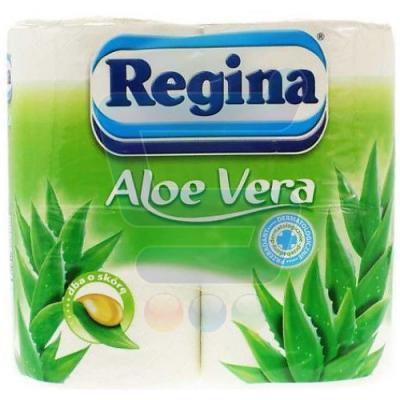 Regina Туалетная бумага Алое Вера белая 3 слоя 4 рул юбки regina style юбка page 4