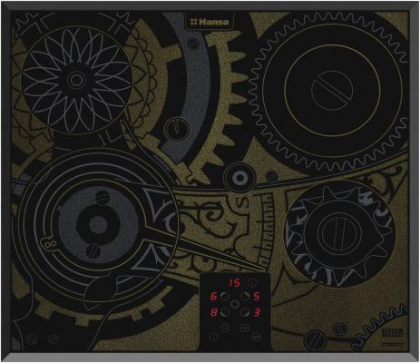 Варочная панель электрическая Hansa BHC66505 черный варочная панель электрическая smeg se364td черный