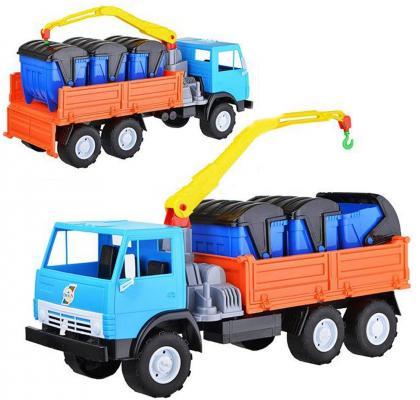 Грузовик Orion Борт с манипулятором Х3 цвет в ассортименте автомобиль orion toys автомобиль логика микроавтобус цвет в ассортименте 195