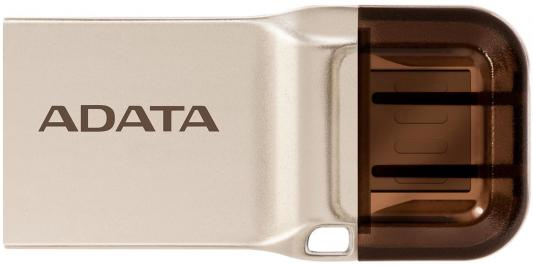 Флешка USB 32Gb A-Data UC360 AUC360-32G-RGD золотистый 1pcs right angle 90 degree usb 2 0 a male female adapter connecter for lap pc wholesale drop shipping