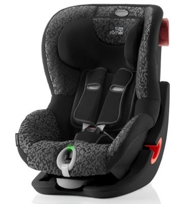 Автокресло Britax Romer King II LS Black Series (mystic black highline)