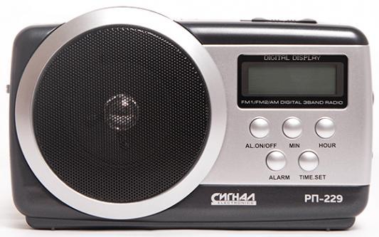 Радиоприемник Сигнал РП-229 черный радиоприемник сигнал рп 229