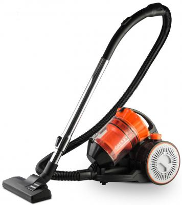 Купить со скидкой Пылесос GALAXY GL6253 сухая уборка чёрный оранжевый