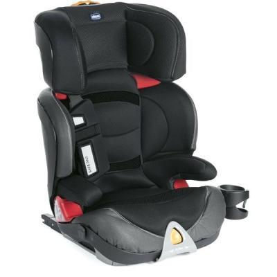 Автокресло Chicco Oasys 2-3 FixPlus Evo (jet black)