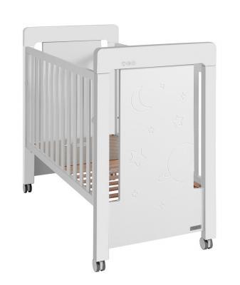 Купить Кроватка Micuna Magic Mum Relax (white), белый, массив бука / МДФ, Кроватки без укачивания
