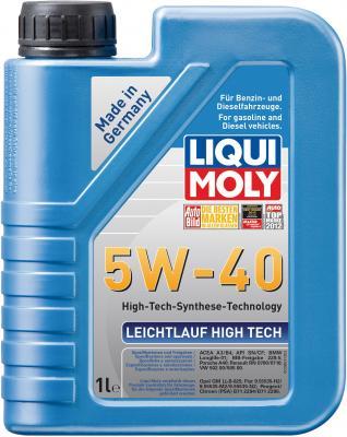 НС-синтетическое моторное масло LiquiMoly Leichtlauf High Tech 5W40 1 л 8028 dvp06xa h2