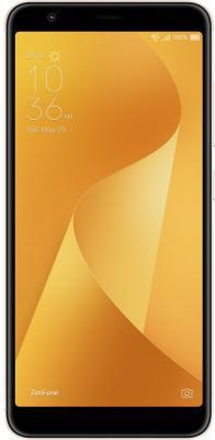 Смартфон ASUS Zenfone Max Plus (M1) ZB570TL золотистый 5.7 32 Гб LTE Wi-Fi GPS 3G 90AX0183-M00100 смартфон asus zenfone zf3 laser zc551kl золотистый 5 5 32 гб wi fi lte gps 3g 90az01b2 m00050