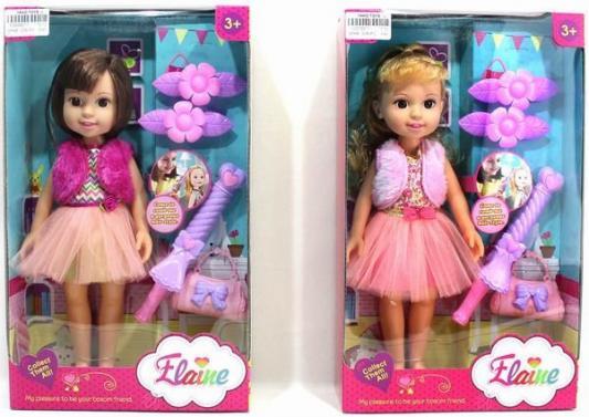Кукла Shantou Gepai Лиза с аксессуарами 32 см в ассортименте игровой набор enchantimals кукла со зверюшкой и аксессуарами в ассортименте