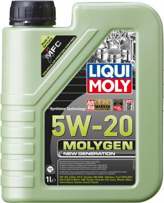 НС-синтетическое моторное масло LiquiMoly Molygen New Generation 5W20 1 л 8539 gamma gf 270