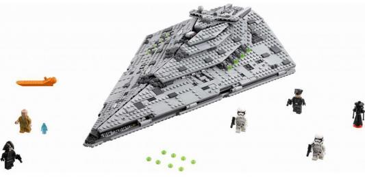 Конструктор LEGO Star Wars: Звездный разрушитель Первого Ордена 1416 элементов 75190