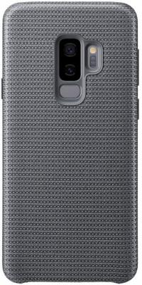Чехол (клип-кейс) Samsung для Samsung Galaxy S9+ Hyperknit Cover серый (EF-GG965FJEGRU) аксессуар чехол samsung galaxy s9 plus hyperknit cover red ef gg965fregru