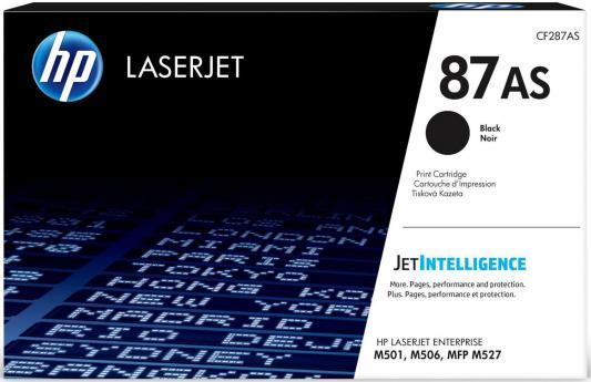 Картридж HP CF287AS для HP Laserjet Enterprise M501/M506/M527 черный 6000стр