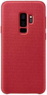 Чехол (клип-кейс) Samsung для Samsung Galaxy S9+ Hyperknit Cover красный (EF-GG965FREGRU) аксессуар чехол samsung galaxy s9 plus hyperknit cover red ef gg965fregru