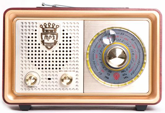 Радиоприемник Сигнал БЗРП РП-324 коричневый