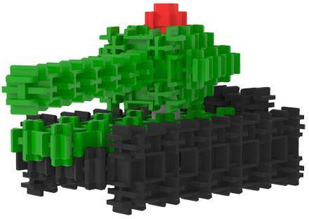 Конструктор FANCLASTIC Средний танк F1036 15 элементов fanclastic