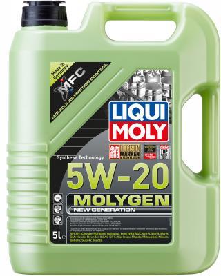 НС-синтетическое моторное масло LiquiMoly Molygen New Generation 5W20 5 л 8540 gamma gf 270