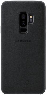 Чехол (клип-кейс) Samsung для Samsung Galaxy S9+ Alcantara черный (EF-XG965ABEGRU) клип кейс ibox fresh для samsung galaxy s5 mini черный